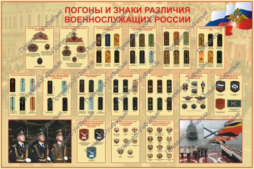 диктанте род погоны и знаки различия военнослужащих россии телефоны